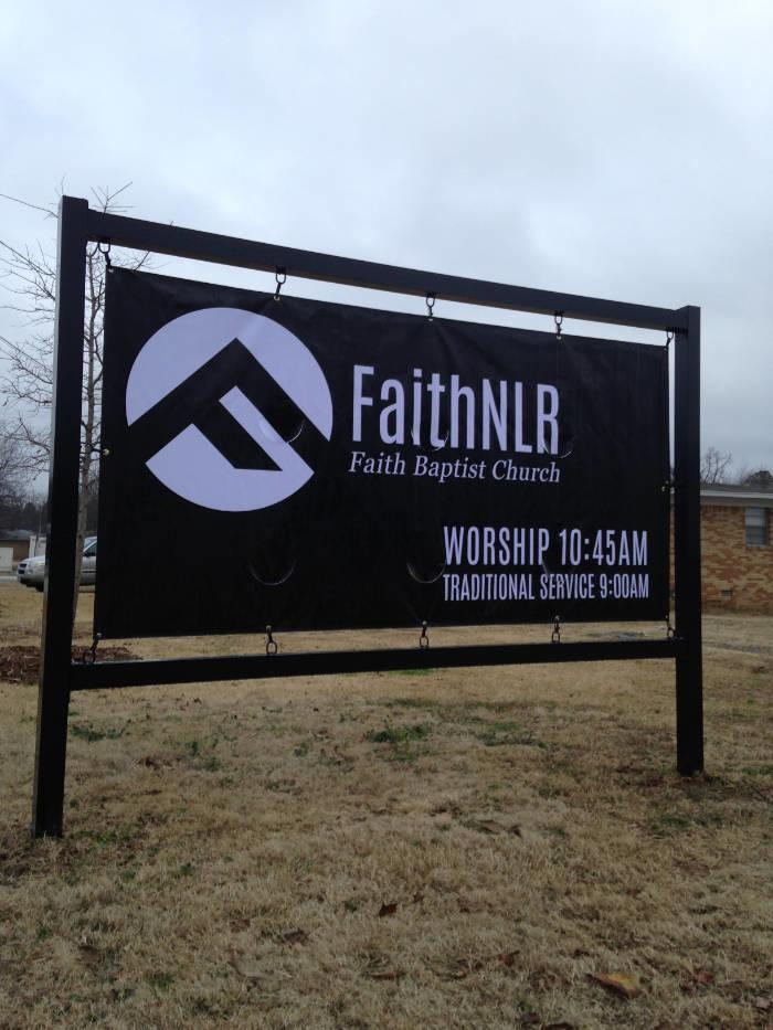Faith NLR Banner Frame