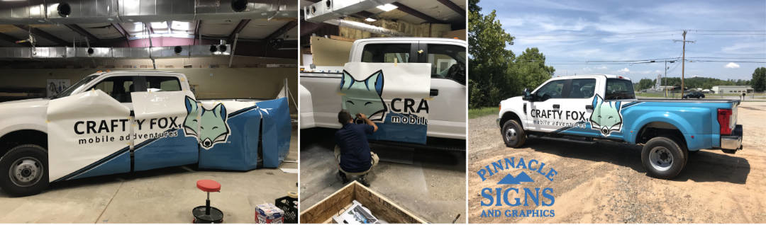 Craft Fox in Process Vehicle Graphic