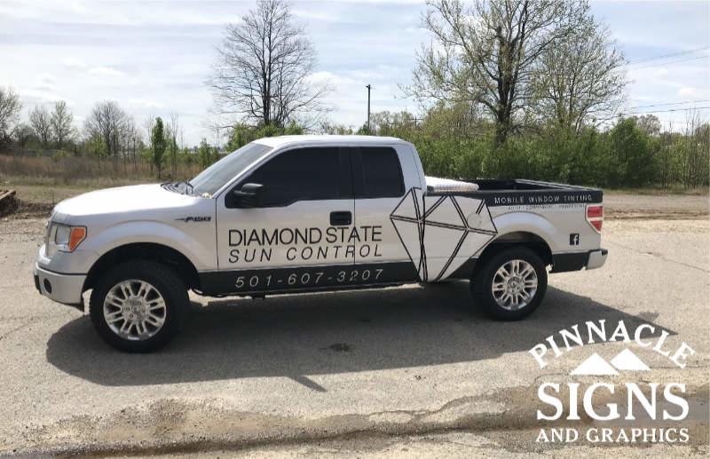 Diamond State Vehicle Graphic