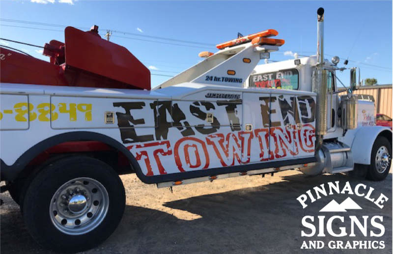 East End Towing Vehicle Graphic