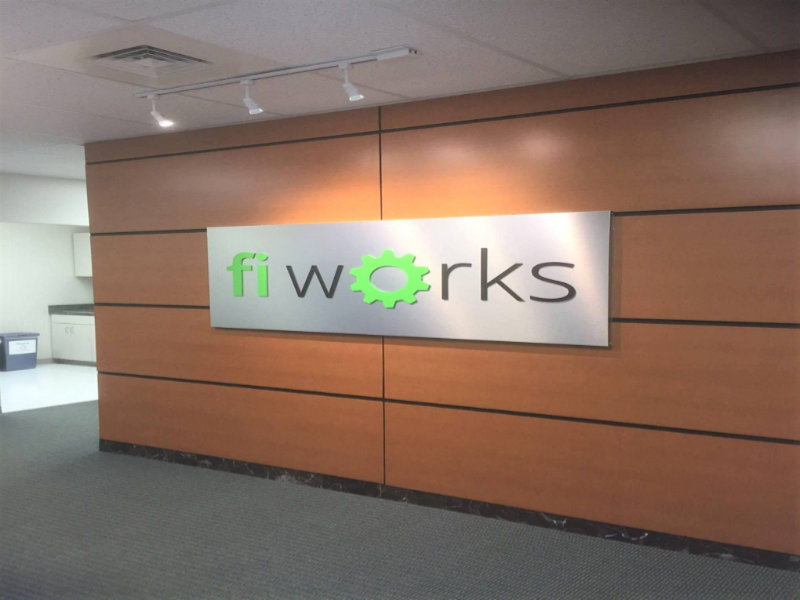 Fi Works Panel Face Dimensional Vinyl Letters Interior Sign