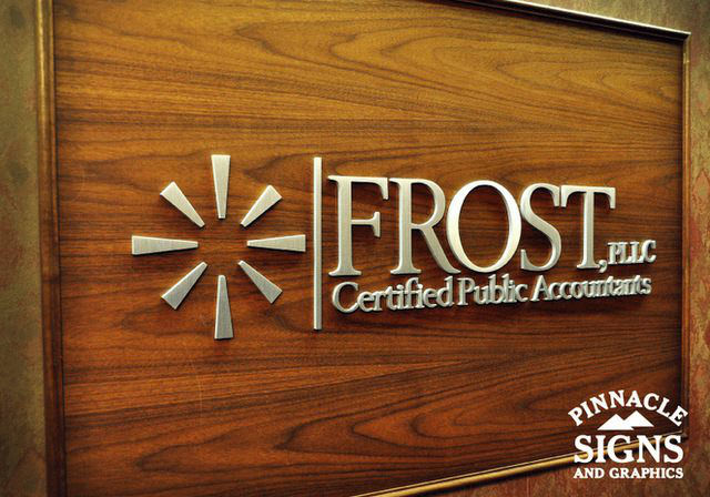 Frost Interior Sign