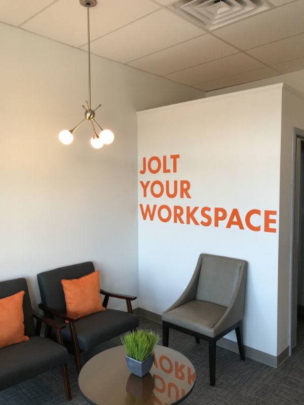 Jolt Hub Wall Graphics Interior Sign