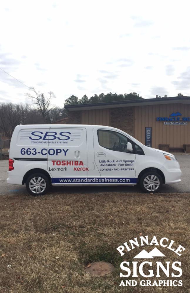 SBS Van Wrap