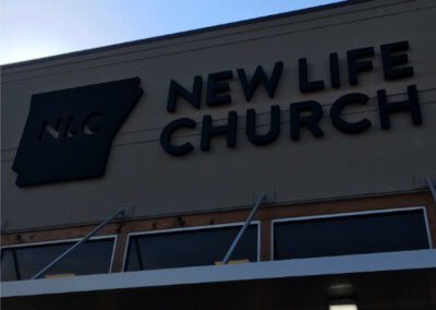 NLC Conway Halo Lit Sign