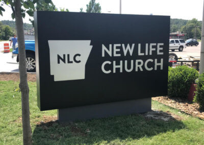 NLC Fayetteville Monument Sign