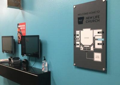 NLC Map Interior Sign