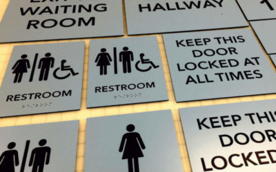 Does Your Company Signage Meet ADA Compliant Code?